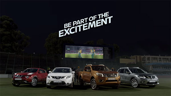Nissan South Africa ICC Champions Trophy Ad