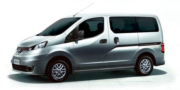 nissan nv200 combi best fuel efficiency on the market. Black Bedroom Furniture Sets. Home Design Ideas
