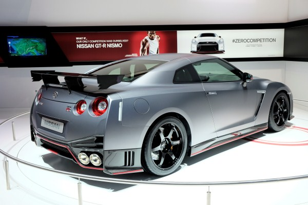 The most beautiful backside:  GT-R NISMO