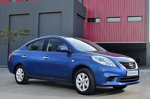 The new 2014 Nissan Almera