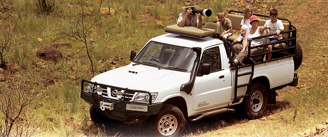 Nissan Patrol with Safari Pack