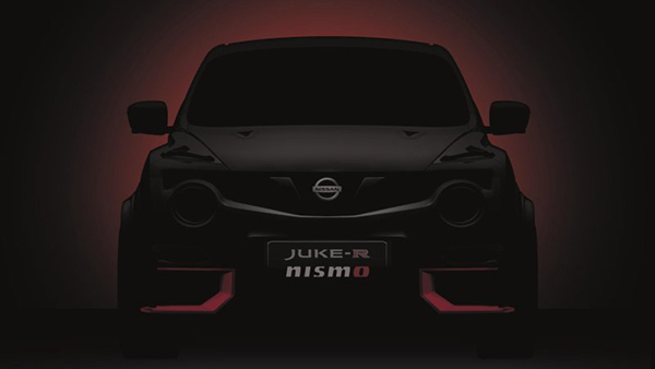 A Nissan Juke R with a GT-R Nismo Engine? Awesome!