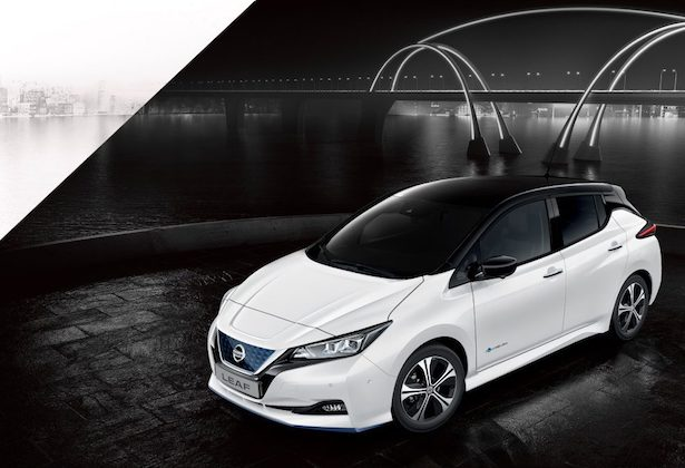 New Nissan LEAF e+