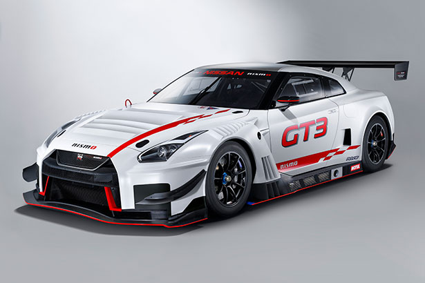 2018 GT-R Nismo GT3 - Front 3/4 View