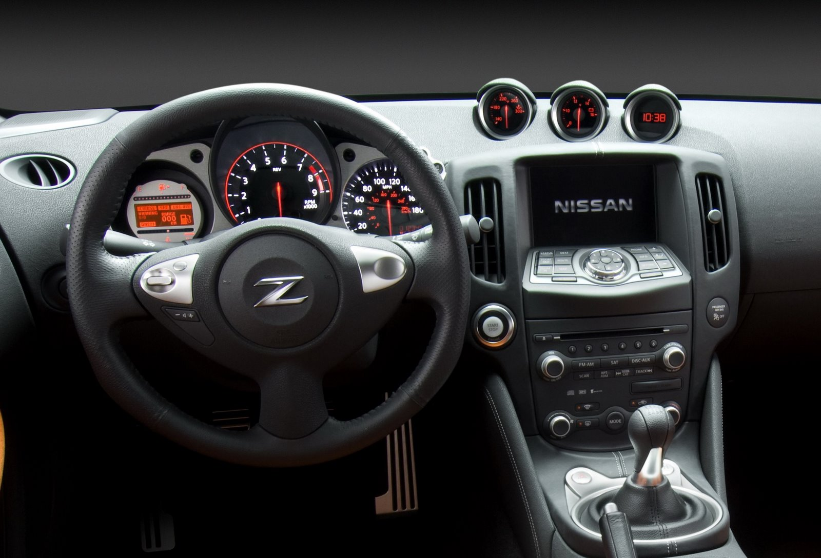 Nissan 370Z Drivers View