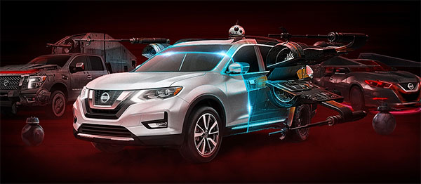 Nissan has once again joined forces with Lucasfilm