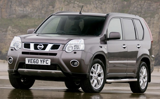 The X-trail Platinum has launched in the UK