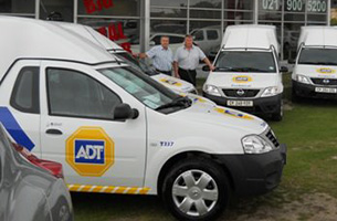 ADT Security - Nissan NP200 Fleet Vehicles