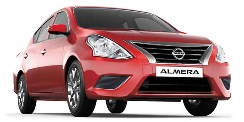 Nissan Almera – Great Price and Amazing Extra's