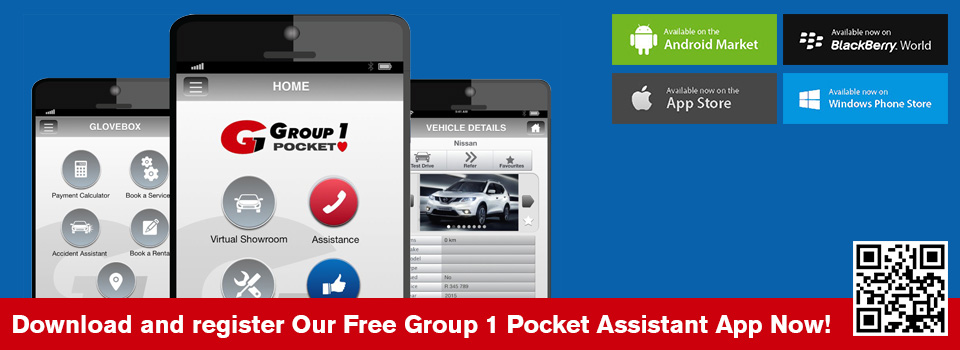 Download the FREE Group 1 Pocket Assistant App