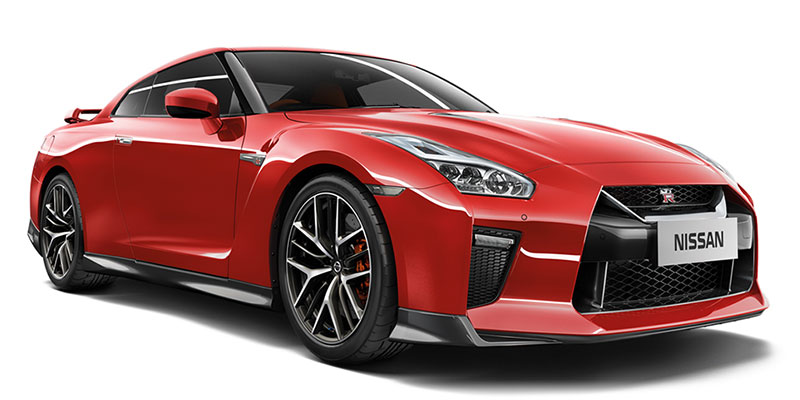 Nissan GT R Colours