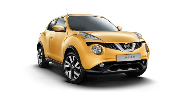 Nissan Juke Colours