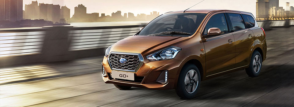 The Spacious Datsun Go 7 Seater's a people carrier that's in its own class