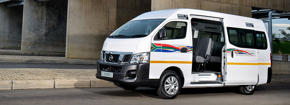 Nissan Minibus NV350 Impendulo Taxi Offers More Passenger Seating