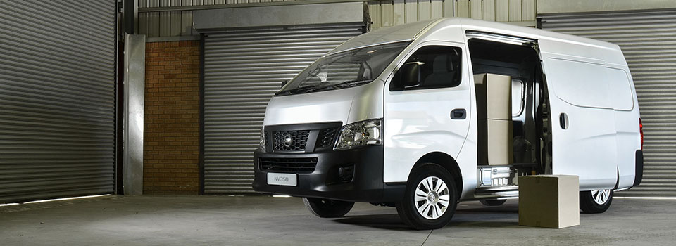 Nissan NV350 Light Commercial Vehicle is BIG on Space