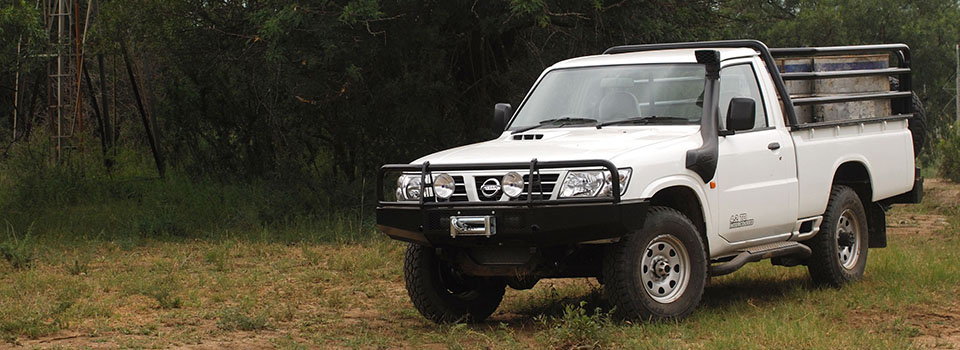 Nissan Patrol Pickup – South Africa's Tough Bushveld Bakkie