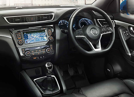 2018 nissan qashqai meet the game changing brand new qashqai for Interior nissan qashqai