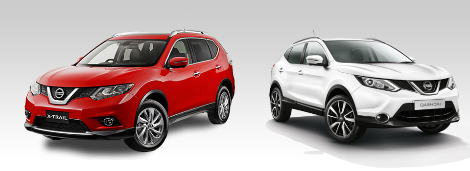 X-Trail vs Qashqai | Group 1 Nissan Challenge